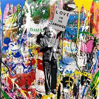 Mr. Brainwash, 'LOVE IS THE ANSWER (EINSTEIN)', 2017