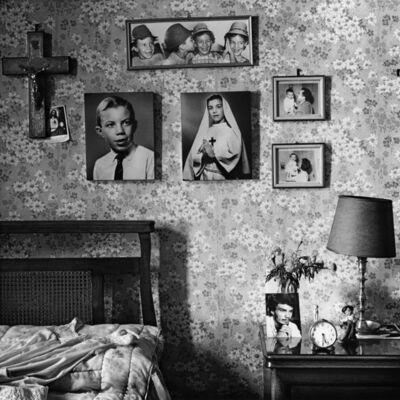 Marcos López, 'Self-portrait at El Trébol Hotel | Autorretrato en el Hotel El Trébol', 1984