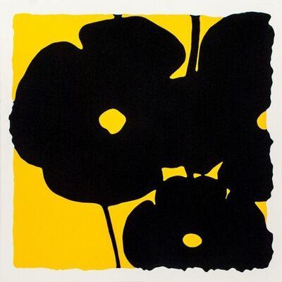 Donald Sultan, 'Yellow Reversal Poppies', 2015