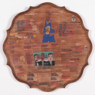 Daniel Green, 'Abraham Lincoln, John F Kennedy, Dr Martin Luther King', 2017