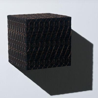 Denise Yaghmourian, 'Black Cube w/ Copper #2', 2008