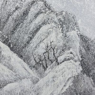 Yang Yongliang 杨泳梁, 'Vanishing Landscape - Snowy Mountains #1', 2017