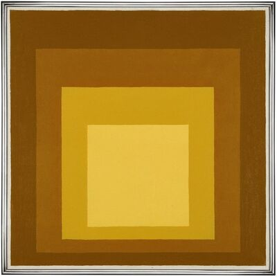 Josef Albers, 'Homage to the Square', 1956
