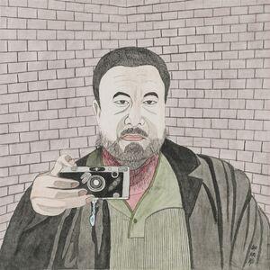 Bingfeng Shao, 'Ai Weiwei', 2014