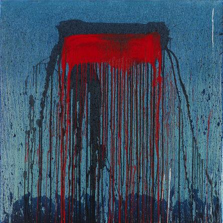 Pat Steir, 'Blue', 2007