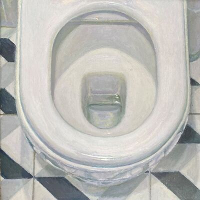 Craig Wylie, 'Toilet Bowl Through the Looking Glass', 2018