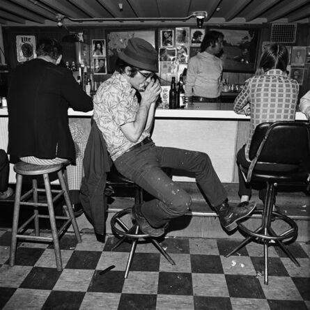 Henry Horenstein, 'Harmonica Player, Merchant's Cafe, Nashville, TN ', 1974