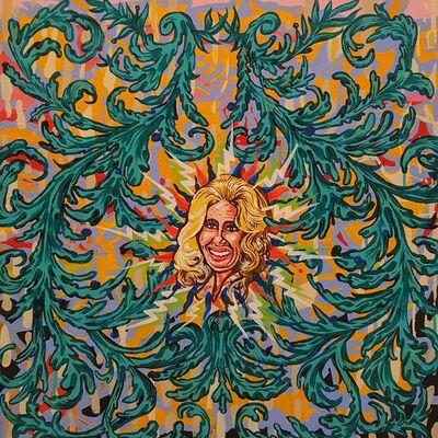 Clay Stinnett, 'Tammy Wynette White Lightnin' Mandala', 2016
