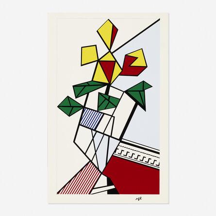 Roy Lichtenstein, 'Flowers (Corlett III.46 )', 1973