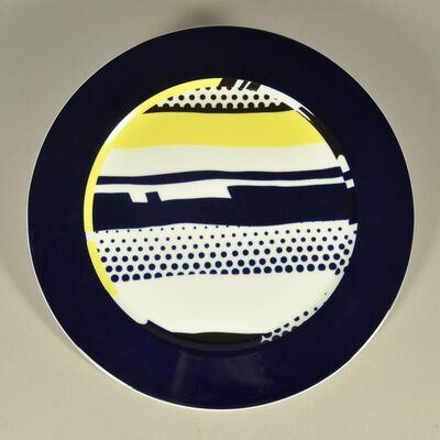 Roy Lichtenstein, 'China Plate', 1990