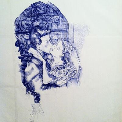 Keren Cytter, 'Romantic Drawing #3', 2014