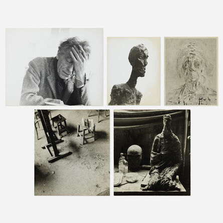 Herbert Matter, 'Untitled (Giacometti) (five works)'