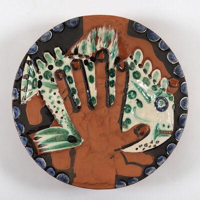 Pablo Picasso, 'Mains au poisson (A.R.214)', 1953