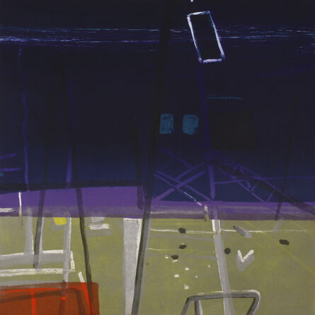Barbara Rae, 'Docklands', 2006