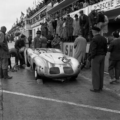 Jesse Alexander, 'Porsche Pit Stop at Le Mans', 1959