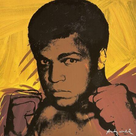 Andy Warhol, 'Muhammad Ali (Yellow/Brown)', 1986