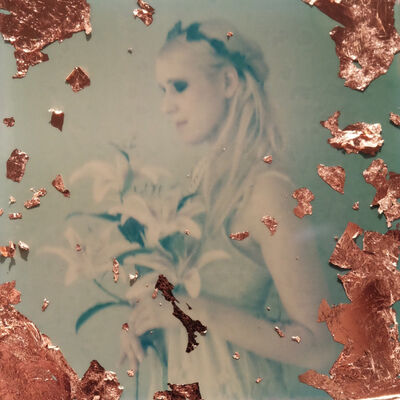 Julia Beyer, 'Melancholia - Contemporary, Figurative, Woman, Polaroid, Photography, 21st Century', 2017