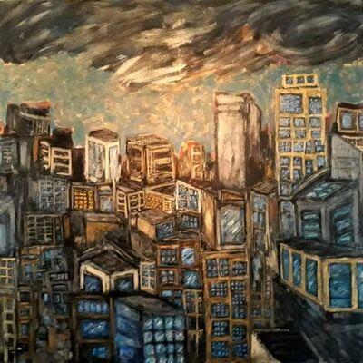 José Lévy, 'Urban landscape ', 2020