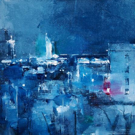 Heiko Mattausch, 'Blue Nights', 2017