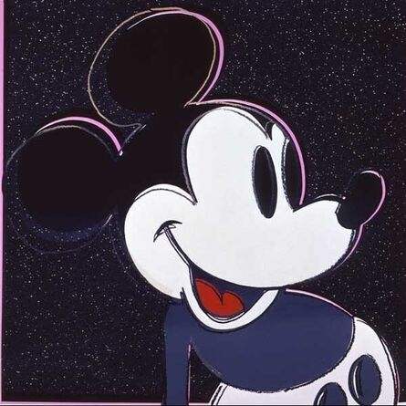 Andy Warhol, 'Myths - Mickey Mouse', 1981