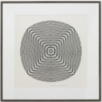 Channa Horwitz, 'Centered I', 1982
