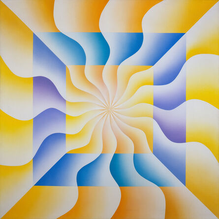 Judy Chicago, 'Christina of Sweden (Great Ladies Series)', 1973