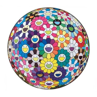 Takashi Murakami, 'Flower Ball: Multicolour (Thoughts on Matisse)', 2015