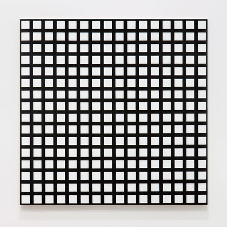 François Morellet, 'Trames de 256 carrés réguliers', 1972