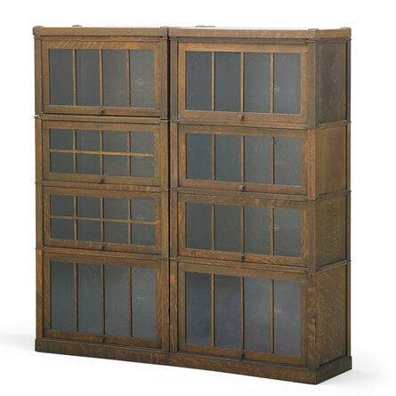 Macey, 'Six Stacking Barrister Bookcases, Grand Rapids, MI', ca. 1910