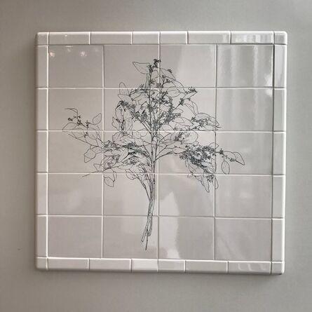 Nicholas Kripal, 'Flower Tile #2', 2015
