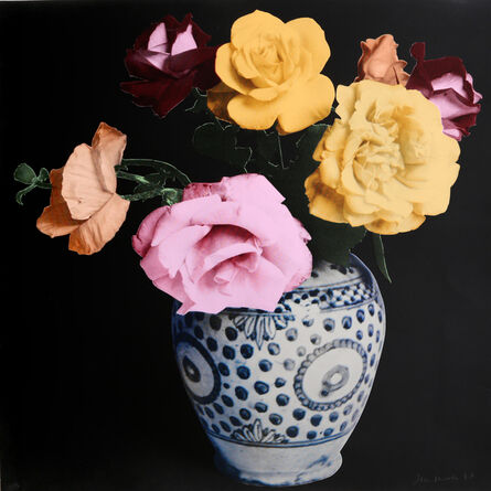 Francesco Scavullo, 'Flower Arrangement (Black)', 1987
