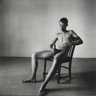 Peter Hujar, 'Seated Nude, Bruce de Saint Croix', 1976