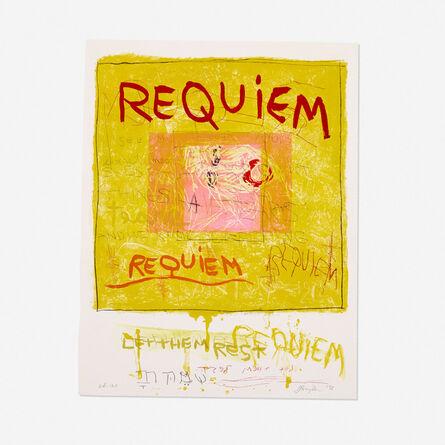 Joan Snyder, 'Requiem/Let Them Rest', 1998