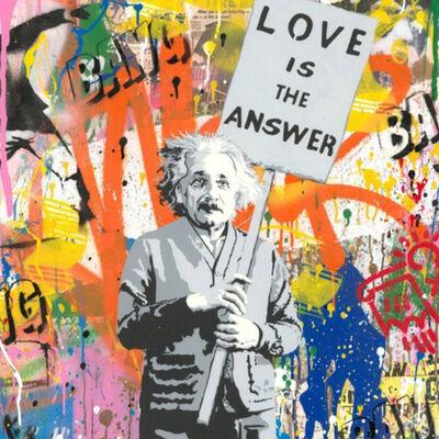 Mr. Brainwash, 'Albert Einstein', 2019
