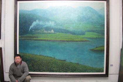 Affectionate Landscape – The Pointillist Solo Exhibition of Chen Zhang Hong