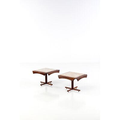 Jorge Zalszupin, 'Pair of side tables', 1960
