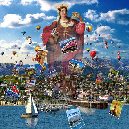 Peter Kempson, 'Visit Santa Barbara'