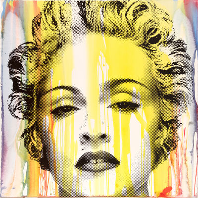 Mr. Brainwash, 'Happy Birthday Madonna - Unique Yellow Variant ', 2017
