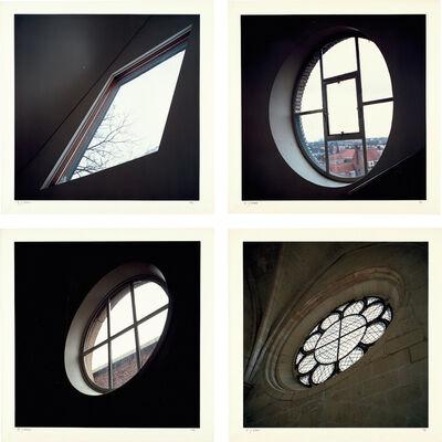 Jan Dibbets, 'Soissons from Ten Windows: four plates', 1988-97
