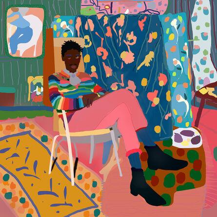 Santiago Paredes, 'Black its the new Black ', 2018