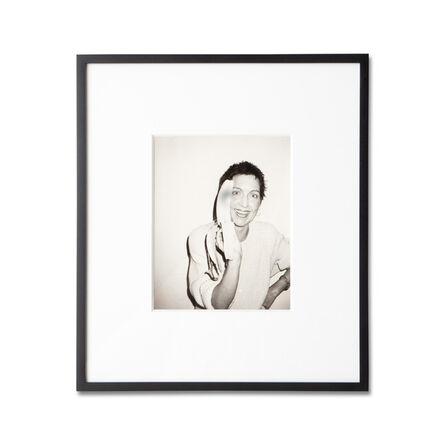 Andy Warhol, 'Pat Hackett with Banana', 1986