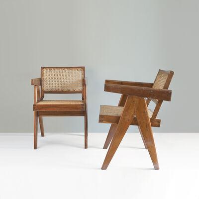 Pierre Jeanneret, 'PJ-SI-28-B Office cane chair'