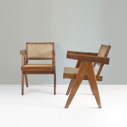 Pierre Jeanneret, 'PJ-SI-28-B Office cane chair', 1956-1964