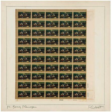 Sol LeWitt, 'Postage Stamps', 1967