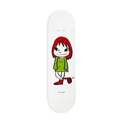 Yoshitomo Nara, 'Welcome Girl Skateboard Deck', 2017
