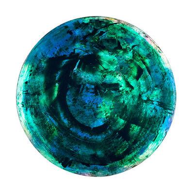 Trevor Goss, 'Disc Series Marina Del Rey Green and Blue'