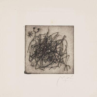 Joan Miró, 'Un Jour Entire', 1960