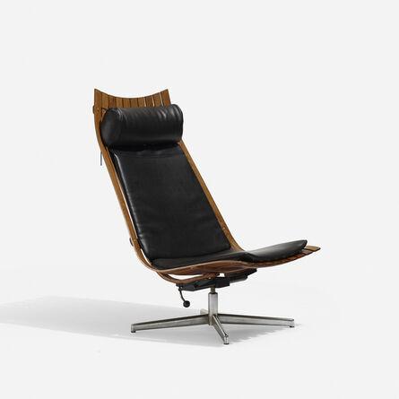 Hans Brattrud, 'Scandia Nett Swivel Lounge Chair', 1957