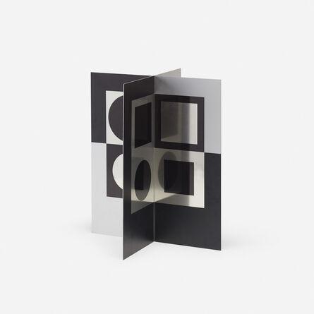 Victor Vasarely, 'Image-miroir (from Le discours de la methode portfolio)', 1965