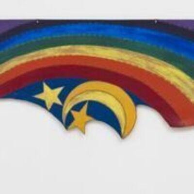 Betye Saar, 'Rainbow Mojo', 1972